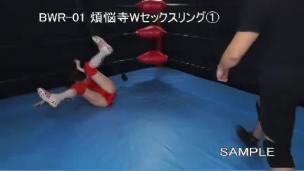 (舞咲みくに)モデルで美しい乳のレスラーがレスリングの試合中になぜかヤラレてしまう